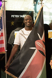 Kenyan Peter Tabichi (left) teacher at Keriko Secondary School in Nakuru, Kenya poses in Dubai, United Arab Emirates, on March 24, 2019. The Global Teacher Prize serves to underline the importance of educators and the fact that, throughout the world, their efforts deserve to be recognised and celebrated. The US $1 million award from the Varkey Foundation is presented annually to an exceptional teacher who has made an outstanding contribution to their profession. Photo by GESF-Balkis Press/ABACAPRESS.COM