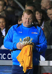 20 February 2017 - The FA Cup - (5th Round) - Sutton United v Arsenal - Sutton United reserve goalkeeper Wayne Shaw - Photo: Marc Atkins / Offside.