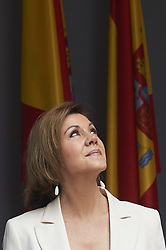 May 26, 2018 - Logrono, La Rioja, Spain - Maria Dolores de Cospedal attended the Armed Forces Day Homage on May 26, 2018 in Logrono, La Rioja, Spain (Credit Image: © Jack Abuin via ZUMA Wire)
