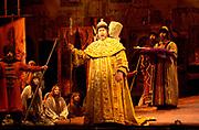 Gaston De Cardenas/El Nuevo Herald -- The Florida Grand Opera presentation of Boris Godunov with tenor James Morris in the role of Boris.