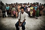 Christian refugees at the Peyton sahi relief comittee in Orissa's capital Bhubaneswar on Nov. 03, 2008. .