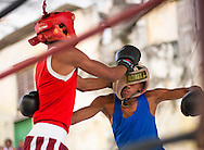 Young boxers, Havana, Cuba