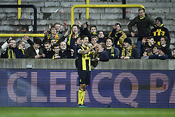 November 17, 2017 - Lier, BELGIUM - Lierse's Frederic Frans pictured after a soccer game between Lierse SK and Cercle Brugge, in Lier, Friday 17 November 2017, on day 16 of the division 1B Proximus League competition of the Belgian championship. BELGA PHOTO YORICK JANSENS (Credit Image: © Yorick Jansens/Belga via ZUMA Press)
