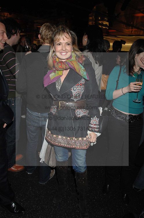 COUNTESS MAYA VON SCHONBURG at a party to celebrate the launch of Holly Peterson's debut novel 'The manny' held at Selfridges, Oxford Street, London on 26th February 2007.<br /><br />NON EXCLUSIVE - WORLD RIGHTS