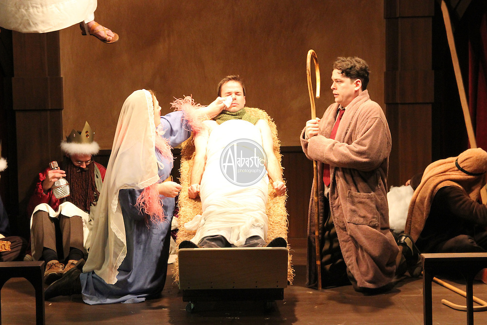 """Book-It Repertory Theatre production of """"Owen Meany's Christmas Pagent""""."""