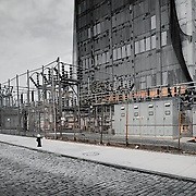 New York, U.S, NYC:  View of  the Energy Power Plant. Signed and editioned prints available at 50x40cm. Get and touch, for commercial uses or other sizes.. Photographs by Alejandro Sala | Visit Shop Images to purchase and download a digital file and explore other Alejandro-Sala images…