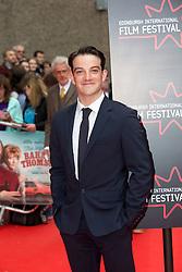 "Kevin Guthrie. Opening Night Gala and World Premiere of ""The Legend of Barney Thompson"", Edinburgh International Film Festival 17 - 28 June 2015."