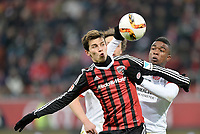 Fotball<br /> Tyskland<br /> 23.01.2016<br /> Foto: Witters/Digitalsport<br /> NORWAY ONLY<br /> <br /> v.l. Alfredo Morales (Ingolstadt), Jhon Cordoba <br /> Ingolstadt, 23.01.2016, Fussball Bundesliga, FC Ingolstadt 04 - 1. FSV Mainz 05
