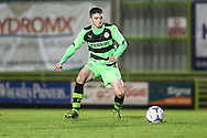 Forest Green Rovers Louis McGrory during the The County Cup match between Forest Green Rovers and Bristol City at the New Lawn, Forest Green, United Kingdom on 23 November 2015. Photo by Shane Healey.