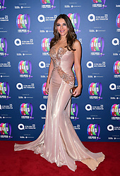 Elizabeth Hurley attending the Gala Night for Take That's The Band musical, in association with the Elton John AIDs Foundation, held at the Haymarket Theatre, London.