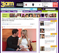 Chantelle Houghton and Alex Reid / 3am / 3rd January 2012.