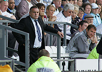 Photo: Paul Thomas.<br /> Derby County v Cardiff City. Coca Cola Championship.<br /> 20/08/2005.<br /> <br /> Dave Jones, Cardiff Manager.