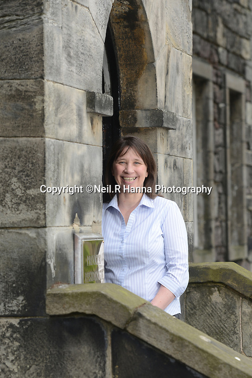 ESS , Edinburgh Castle, Officers Mess.<br /> <br /> Mandy Gray, Support Services manager at ESS outside the Officers Mess<br /> <br /> <br /> <br /> Neil Hanna Photography<br /> www.neilhannaphotography.co.uk<br /> 07702 246823
