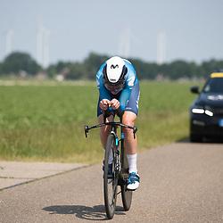 EMMEN (NED) June 16: <br /> CYCLING <br /> Annemiek Van Vleuten in action Dutch national time trail