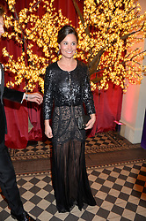 PIPPA MIDDLETON and NICO JACKSON at the Sugarplum Dinner - The event was for the launch of Sugarplum Children, a new website and fundraising initiative for children who live with type 1 diabetes, and to raise money for JDRF (Juvenile Diabetes Research Foundation) held at One Mayfair, 13A North Audley Street, London on 20th November 2013.