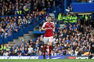 Granit Xhaka of Arsenal looks on. Premier league match, Chelsea v Arsenal at Stamford Bridge in London on Sunday 17th September 2017.<br /> pic by Kieran Clarke, Andrew Orchard sports photography.