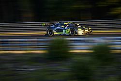 June 17, 2017 - Le Mans, France - 97 ASTON MARTIN RACING (GBR) ASTON MARTIN VANTAGE  LMGTE PRO  DARREN TURNER (GBR) JONATHAN ADAM (GBR) DANIEL SERRA  (Credit Image: © Panoramic via ZUMA Press)