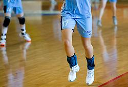 Women legs at practice of Slovenian Handball Women National Team, on June 3, 2009, in Arena Kodeljevo, Ljubljana, Slovenia. (Photo by Vid Ponikvar / Sportida)