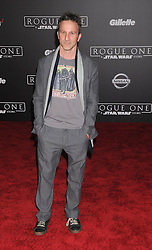 December 10, 2016 - Los Angeles, CA, United States of America - Breckin Myer arriving at the Star Wars ''Rogue One'' World Premiere at the Pantages Theater on December 10 2016 in Hollywood, CA  (Credit Image: © Famous/Ace Pictures via ZUMA Press)