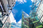 Luxembourg, Kirchberg, city, modern,architecture,sky,blue