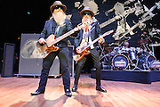 """COLUMBIA, MD - October 6th, 2012 - ZZ Top perform at the 2012 Virgin Mobile FreeFest in Columbia, MD. The band played new material from their recently released album La Futura, as well as old hits such as """"Legs"""" and """"Gimme All Your Lovin."""" (Photo by Kyle Gustafson / For The Washington Post)"""