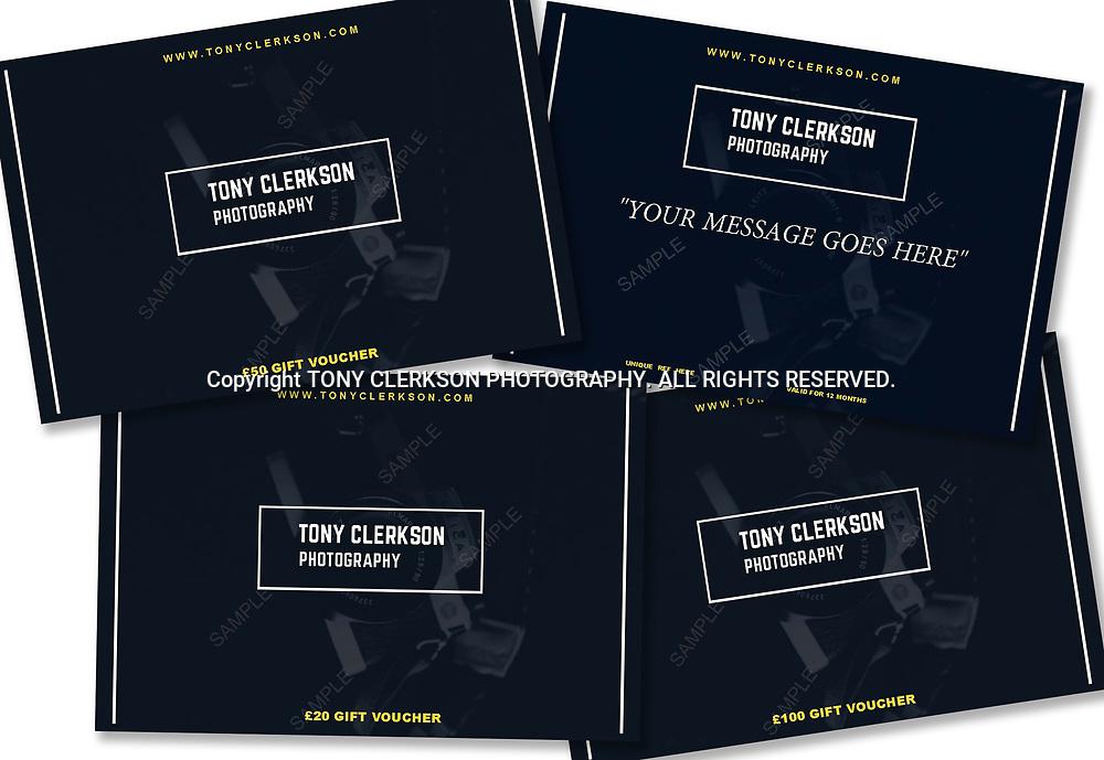 Tony Clerkson Photography gift voucher