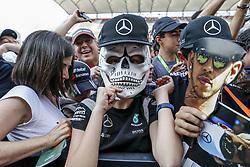 October 25, 2018 - Mexico-City, Mexico - Motorsports: FIA Formula One World Championship 2018, Grand Prix of Mexico, .Fans  (Credit Image: © Hoch Zwei via ZUMA Wire)