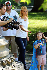 NY: A Kid like Jake film set - 21 June 2017