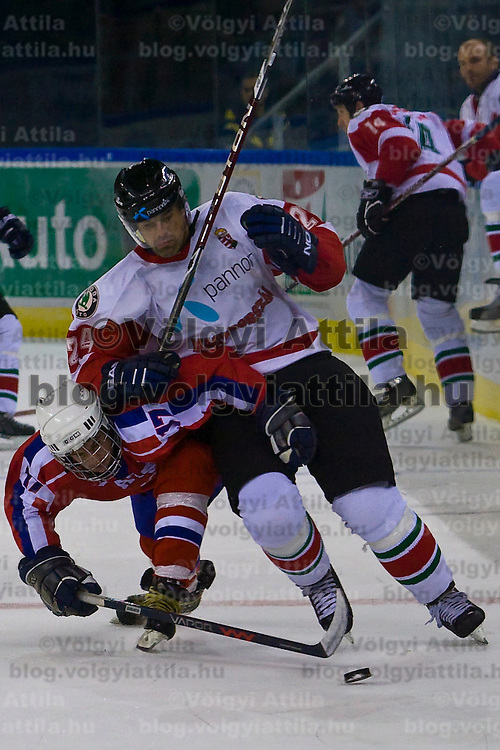 Olympic preliminary ice hockey game.