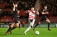 Alfie May of Doncaster Rovers (19) in action during the EFL Sky Bet League 1 match between Doncaster Rovers and Sunderland at the Keepmoat Stadium, Doncaster, England on 23 October 2018.