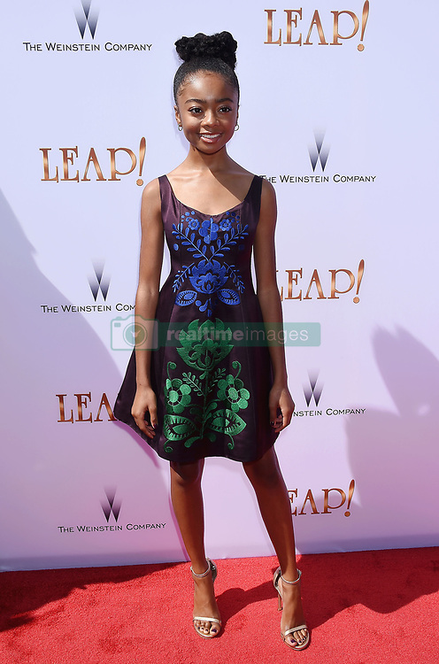 LOS ANGELES, CA - AUGUST 19: Actress Debbie Sherman attends the premiere of The Weinstein Company's 'Leap!' at Pacific Theatres at The Grove Los Angeles on August 19, 2017 in Los Angeles, California. 19 Aug 2017 Pictured: LOS ANGELES, CA - AUGUST 19: Actress Skai Jackson attends the premiere of The Weinstein Company's 'Leap!' at Pacific Theatres at The Grove Los Angeles on August 19, 2017 in Los Angeles, California. Photo credit: Jeffrey Mayer / MEGA TheMegaAgency.com +1 888 505 6342