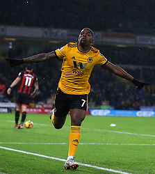 Wolverhampton Wanderers' Ivan Cavaleiro celebrates scoring his side's second goal of the game