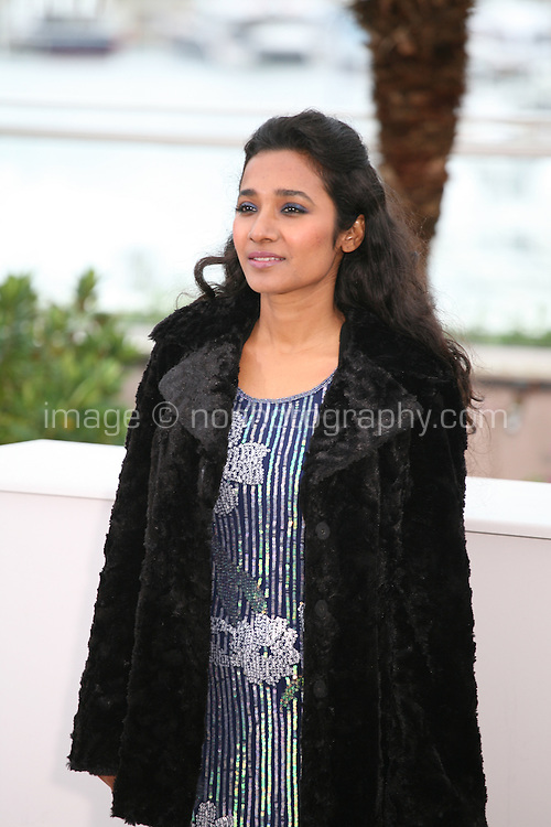 Actress Tannishtha Chatterjee at the Monsoon Shootout film photocall at the Cannes Film Festival 18th May 2013