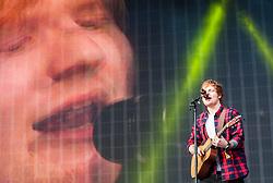 Ed Sheeran plays the main stage, BBC Radio 1's Big Weekend Glasgow. Saturday at Glasgow Green, BBC Radio 1's Big Weekend Glasgow 2014.