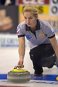 "Glasgow. SCOTLAND. Russia's  Julia PORTUNOVA.  ""Round Robin"" Games. Le Gruyère European Curling Championships. 2016 Venue, Braehead  Scotland<br /> Monday  21/11/2016<br /> <br /> [Mandatory Credit; Peter Spurrier/Intersport-images] ""Round Robin"" Games. Le Gruyère European Curling Championships. 2016 Venue, Braehead  Scotland<br /> Monday  21/11/2016<br /> <br /> [Mandatory Credit; Peter Spurrier/Intersport-images]"