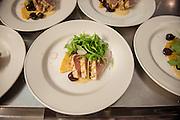 Spiced and Grilled Albacore Tuna, Chickpea Socca, Sauce Tonnato