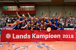 20180509 NED: Eredivisie Coolen Alterno - Sliedrecht Sport, Apeldoorn<br />Sliedrecht Sport is Landskampioen Eredivisie Seizoen 2017 - 2018<br />©2018-FotoHoogendoorn.nl