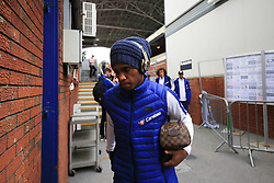 14 October 2017 -  Premier League - Crystal Palace v Chelsea - Willian of Chelsea wearing a volley hat and beats headphones - Photo: Marc Atkins/Offside
