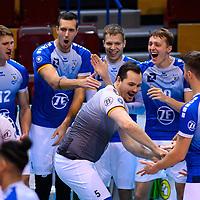 20201031 Volleyball, Bundesliga Männer / Maenner, Normalrunde, SWD powervolleys Düren  vs. V
