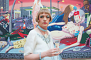 GRAYSON PERRY, Royal Academy Annual Dinner 2013. Piccadilly. London. 4 June 2013.
