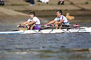 Crew: 24 - Koepp / Bates - Bentham Boat Club - Op MasE 2x <br /> <br /> Pairs Head 2020
