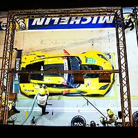 #63, Corvette Racing-GM, Chevrolet Corvette C7.R, driven by: Jan Magnussen, Antonio Garcia, Jordan Taylor, 24 Heures Du Mans 85th Edition, 18/06/2017,
