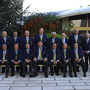 UEFA's Executive Committee met in Istanbul.  Historical meeting in Hilton Hotel  Istanbul UEFA's Executive Committee.<br /> Photo by Aykut AKICI/TurkSporFoto