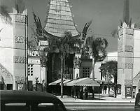 1939 Grauman's Chinese Theater