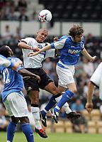 Photo: Paul Thomas. Derby County v Birmingham City, Pre season friendly, Pride Park, Derby. 23/07/2005. Muzzey Izzet and Nathan Doyle.