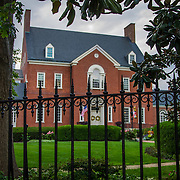 Historic Maryland state house in Annapolis, MD.
