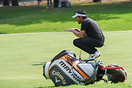 Mike Lorenzo-Vera (FRA) looks over his putt on 1 during Rd4 of the World Golf Championships, Mexico, Club De Golf Chapultepec, Mexico City, Mexico. 2/23/2020.<br /> Picture: Golffile   Ken Murray<br /> <br /> <br /> All photo usage must carry mandatory copyright credit (© Golffile   Ken Murray)