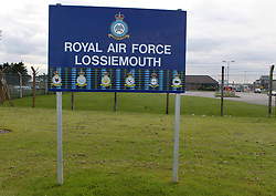 """File photo dated 03/07/12 of RAF Lossiemouth. Britain is reliant on """"the goodwill of others"""" to keep the country safe, Labour has claimed, as figures revealed that Nato allies deployed nearly 40 aircraft to RAF Lossiemouth last year."""