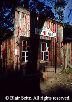 Replica of Grant Wells field office, Drake Well Museum, Titusville, Venago Co., PA