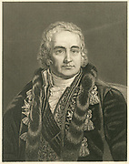 'Jean Antoine Chaptal (1756-1832) French chemist and politician.  A populariser of science, he wished to see the application of recent discoveries in chemisty to industry and agriculture.'